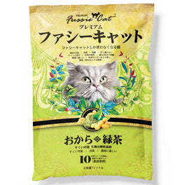 Fussie Cat Green Tea Soybean Cat Litter 7L