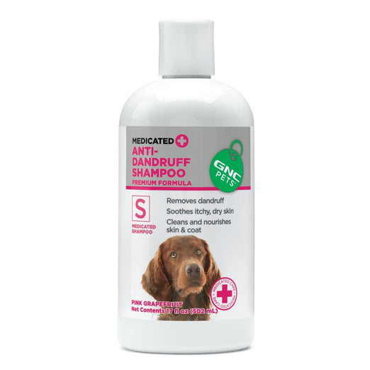 GNC Pets Medicated Anti-Dandruff Dog Shampoo 502ml