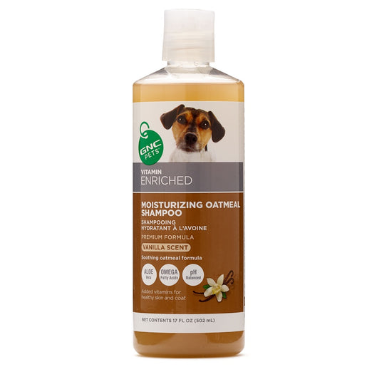 GNC Pets Vitamin Enriched Moisturizing Oatmeal Dog Shampoo 502ml