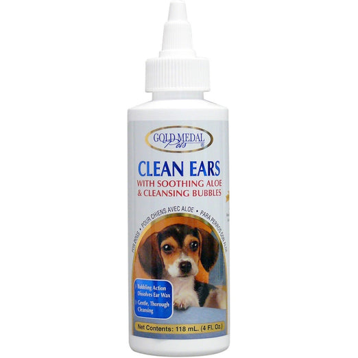 Gold Medal Clean Ears Dog Ear Cleanser 4oz
