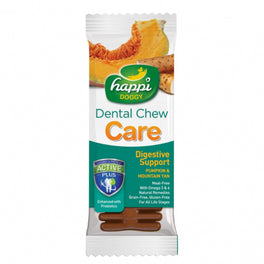10% OFF: Happi Doggy Care Digestive Support 4 Inch Dental Dog Chew 25g
