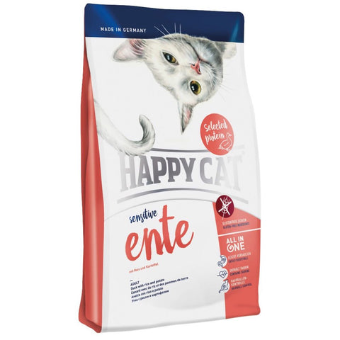 Happy Cat Sensitive Ente Duck Dry Cat Food