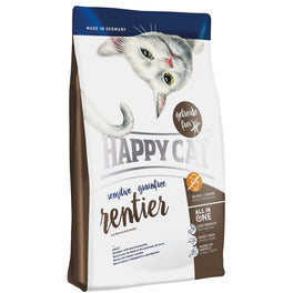 Happy Cat Rentier Reindeer Adult Sensitive Grain-Free Dry Cat Food