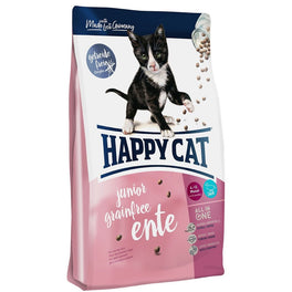 Happy Cat Junior Ente Duck Kitten Grain-Free Dry Cat Food