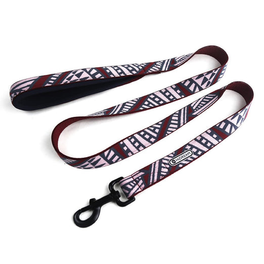 10% OFF: HiDREAM Ancient Castle Dog Leash (Berry Red) - Kohepets