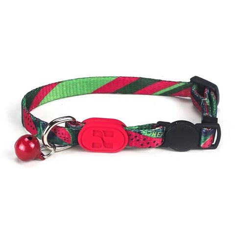 10% OFF: HiDREAM Profusion Adjustable Cat Collar (Watermelon) - Kohepets