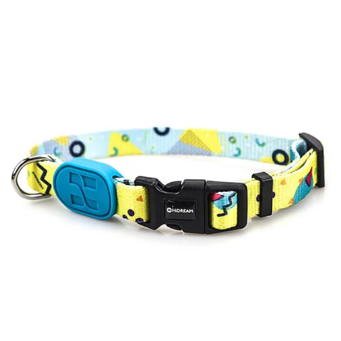 HiDREAM Profusion Adjustable Dog Collar (Lemon Pie) (LIMITED TIME)