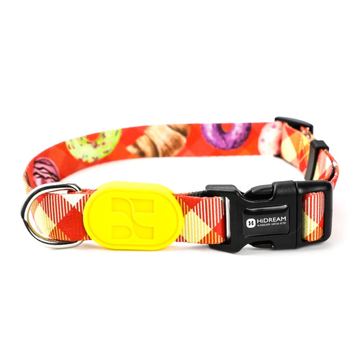 HiDREAM Profusion Adjustable Dog Collar (Picnic Cloth) - Kohepets