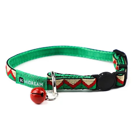 HiDREAM Rainbow Adjustable Cat Collar (Green) (LIMITED TIME)