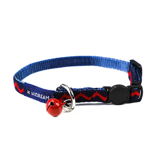 10% OFF: HiDREAM Rainbow Adjustable Cat Collar (Navy Blue) - Kohepets