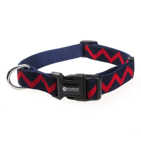 HiDREAM Rainbow Adjustable Dog Collar (Navy Blue) - Kohepets