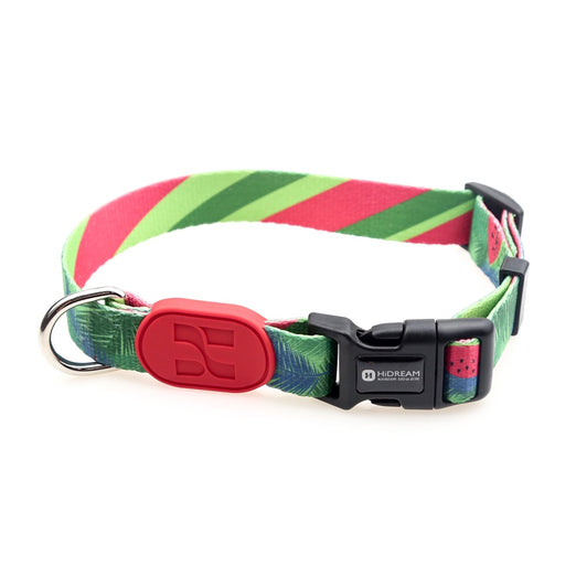 HiDREAM Profusion Adjustable Dog Collar (Watermelon) - Kohepets
