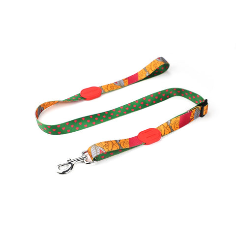 10% OFF: HiDream Profusion Adjustable Dog Leash (Rose Garden) - Kohepets