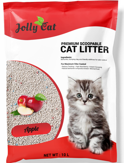 Jollycat Apple Cat Litter 10L - Kohepets