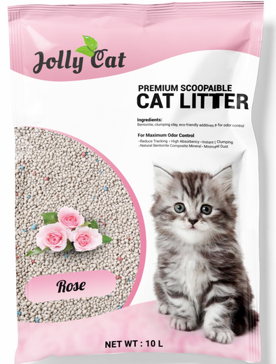 Jollycat Rose Cat Litter 10L - Kohepets