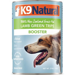 K9 Natural Lamb Green Tripe Booster Canned Dog Food 370g