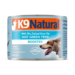 K9 Natural Beef Green Tripe Booster Grain-Free Canned Dog Food 170g