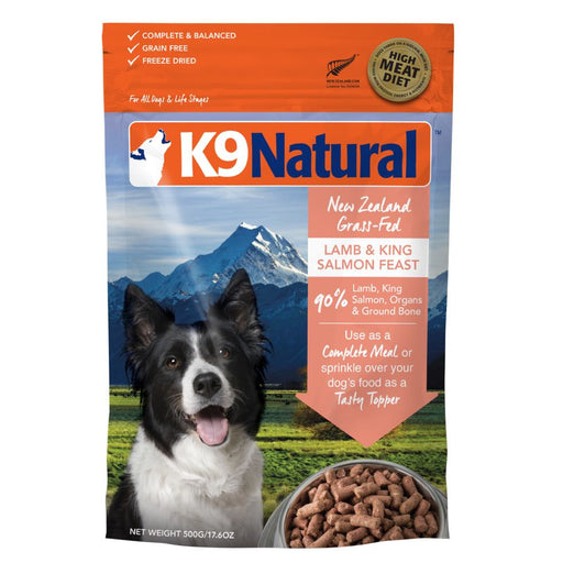 K9 Natural Freeze Dried Lamb & King Salmon Feast Raw Dog Food - Kohepets