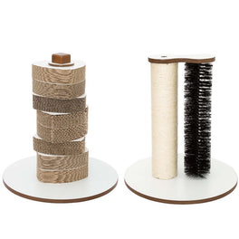 30% OFF: Lulu's World Lu-Scratching Tower & Center Cat Post Bundle