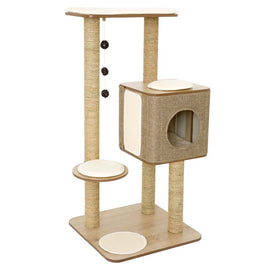 30% OFF: Lulu's World Lu-Cubox High Base Cat Tree