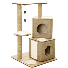 30% OFF: Lulu's World Lu-Cubox Twin Base Cat Tree