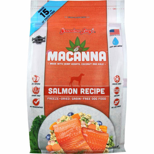 Grandma Lucy's Macanna Salmon Freeze-Dried Dog Food - Kohepets
