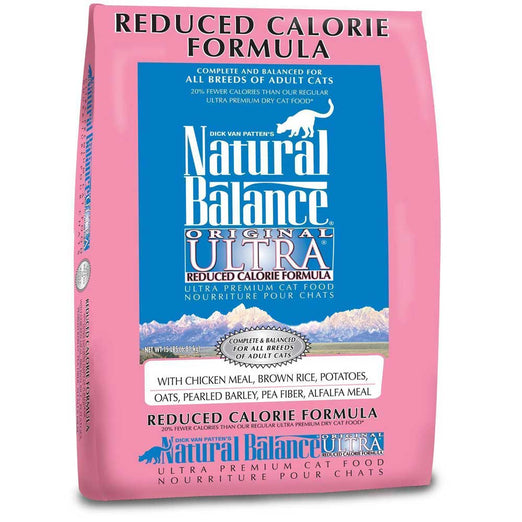 Natural Balance Reduced Calorie Dry Cat Food - Kohepets