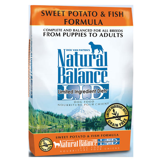 Natural Balance Sweet Potato & Fish Dry Dog Food