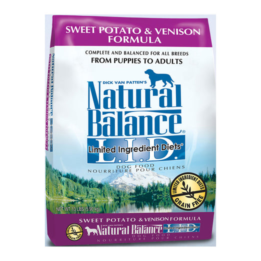 Natural Balance Sweet Potato & Venison Dry Dog Food
