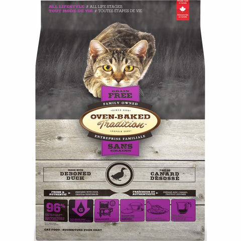Oven-Baked Tradition Duck Grain Free Dry Cat Food - Kohepets
