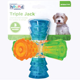 Outward Hound Triple Jack Dog Toy