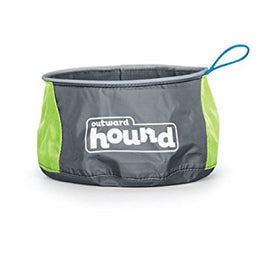 Outward Hound Port A Bowl Collapsible Pet Bowl Large 48oz