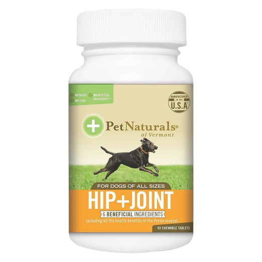 25% OFF: Pet Naturals of Vermont Hip + Joint Glucosamine with MSM & Chondroitin for Dogs 90 tabs