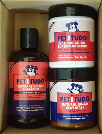 Petitudo Natural Go-Go Spa Kit with Shampoo for Dogs - Kohepets