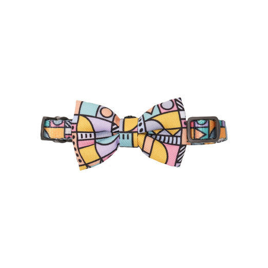 Pidan Bow Tie Cat Collar (Abstract A4)