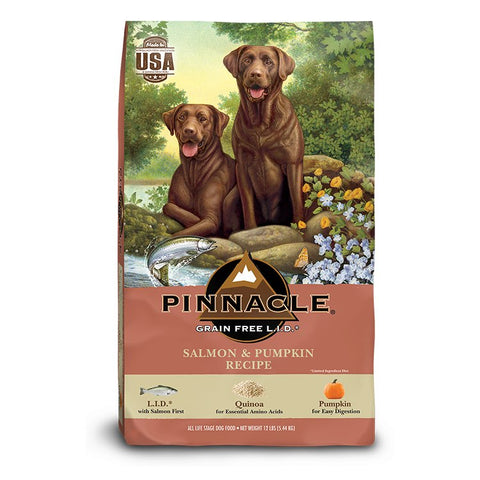 Pinnacle Holistic Grain Free Salmon & Pumpkin Dry Dog Food
