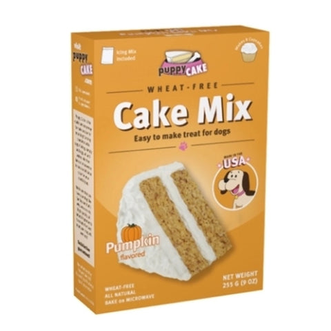 Puppy Cake Pumpkin Microwaveable Cake Mix For Dogs 225g - Kohepets