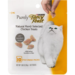 Fancy Feast Purely Natural Hand-Selected Chicken Cat Treats 30g