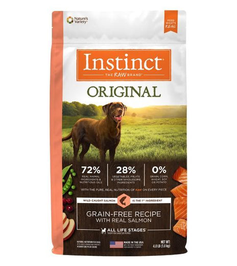 Instinct Original Grain-Free Recipe with Real Salmon Dry Dog Food - Kohepets