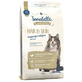 35% OFF 400g (Exp Oct 19): Sanabelle Hair & Skin Dry Cat Food