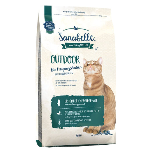 Sanabelle Outdoor Dry Cat Food - Kohepets