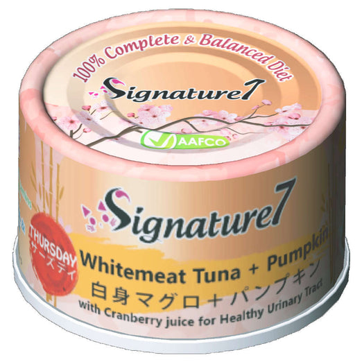 Signature7 Thursday Whitemeat Tuna & Pumpkin Cat Canned Food 2.5oz - Kohepets