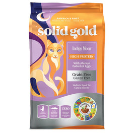 50% OFF (Exp Dec 19): Solid Gold Indigo Moon Alaskan Pollock & Eggs Grain Free Dry Cat Food