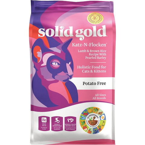 Solid Gold Katz-N-Flocken Dry Cat Food - Kohepets
