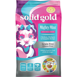 Solid Gold Mighty Mini Chicken, Chickpea & Pumpkin Grain Free Dry Dog Food