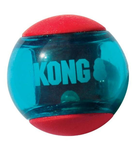 Kong Squeezz Action Red Ball Dog Toy - Kohepets
