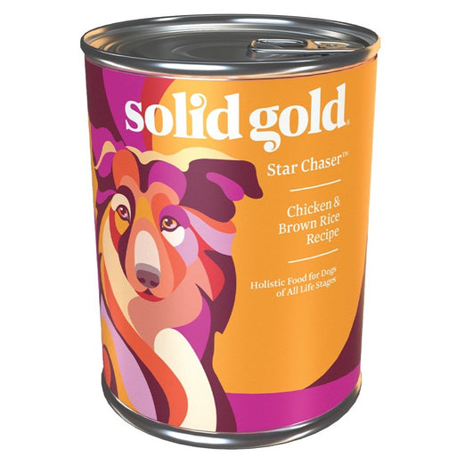 $1 OFF (Exp 29 Sep): Solid Gold Star Chaser Chicken & Brown Rice Canned Dog Food 374g