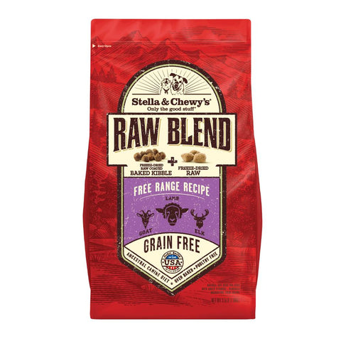 15% OFF: Stella & Chewy's Raw Blend Free Range Kibble With Freeze-Dried Raw Grain-Free Dry Dog Food - Kohepets