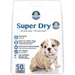 BUY 1 GET 1 FREE: Blue Clean Super Dry Ultra Absorbent Pee Pad For Dogs