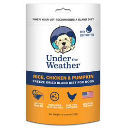 Under The Weather Rice, Chicken & Pumpkin Freeze-Dried Bland Diet Dog Food 170g